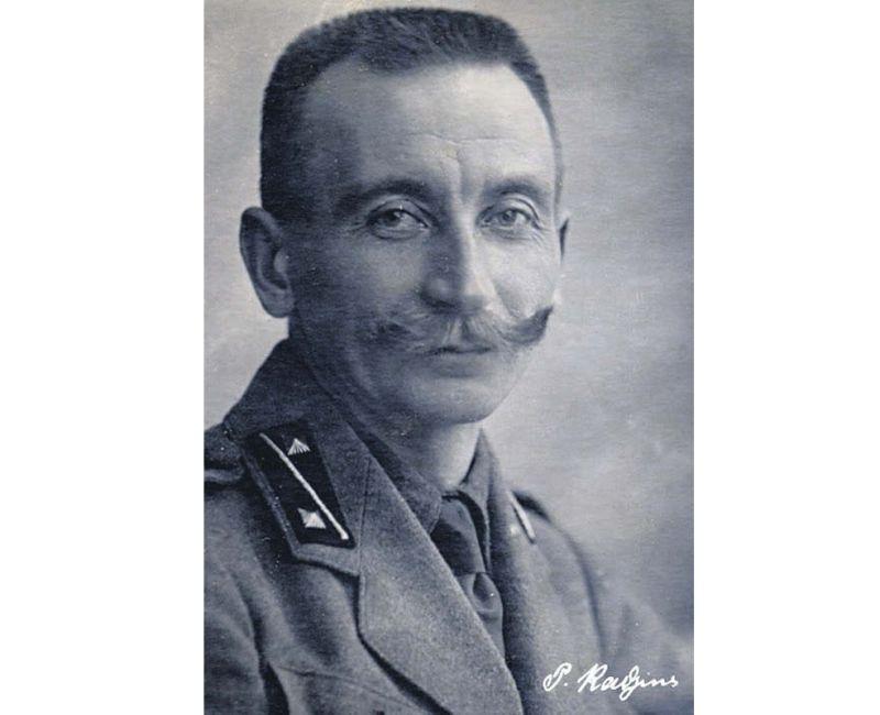 Ģenerālis Pēteris Radziņš.
