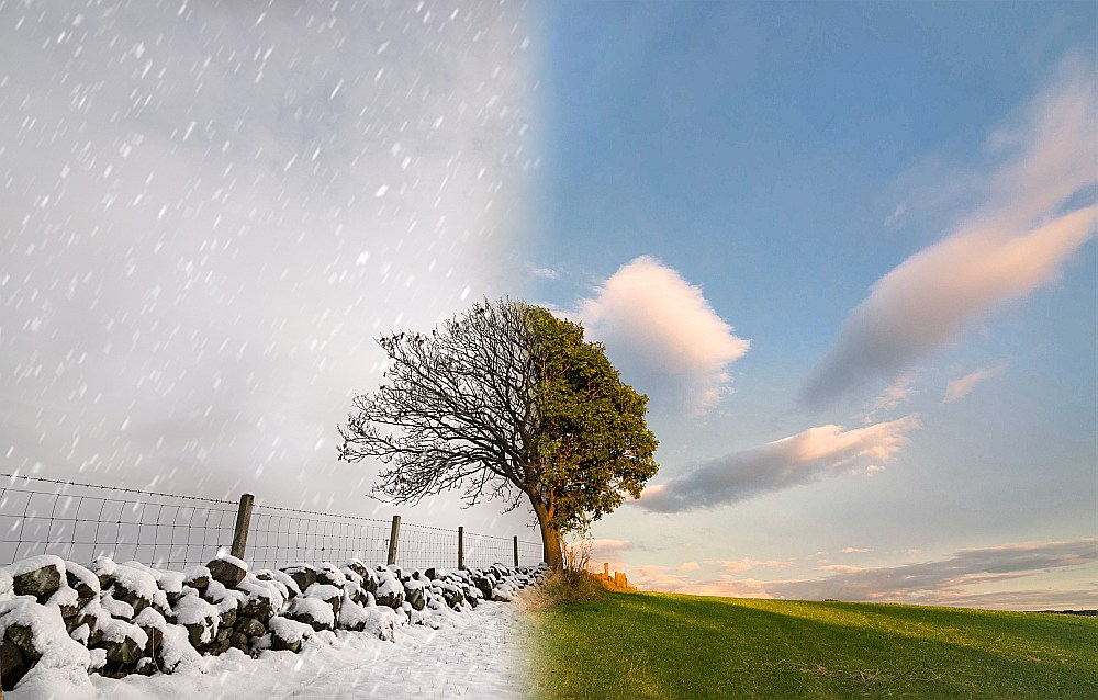 Ziema kļūs par trīs mēnešiem īsāka. Tikai februārī vidējā gaisa temperatūra būs zem nulles. Nākotnes maija laika apstākļi atbildīs mūsdienu jūnijam.