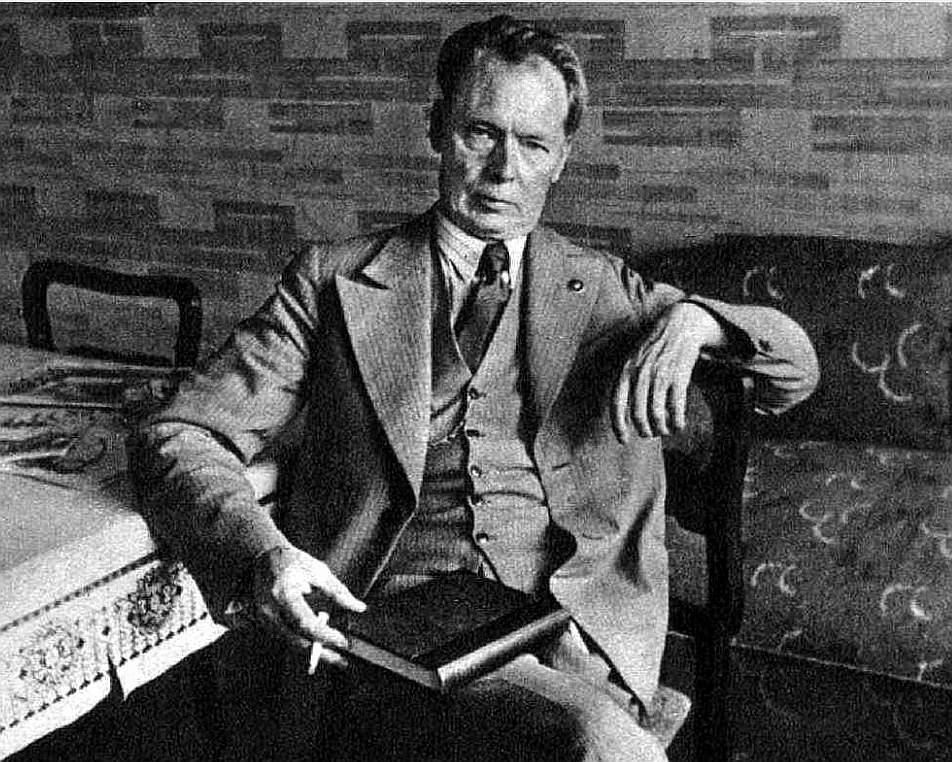 Andrejs Upīts 30. gadu beigās.