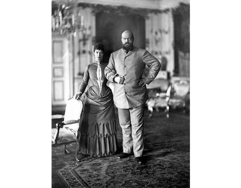 Aleksandrs III un Marija Fjodorovna