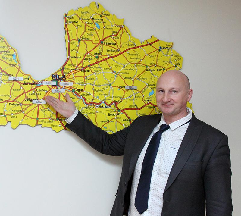 Marius Šukauskas, AS Kesko Senukai Latvia ģenerāldirektora vietnieks.