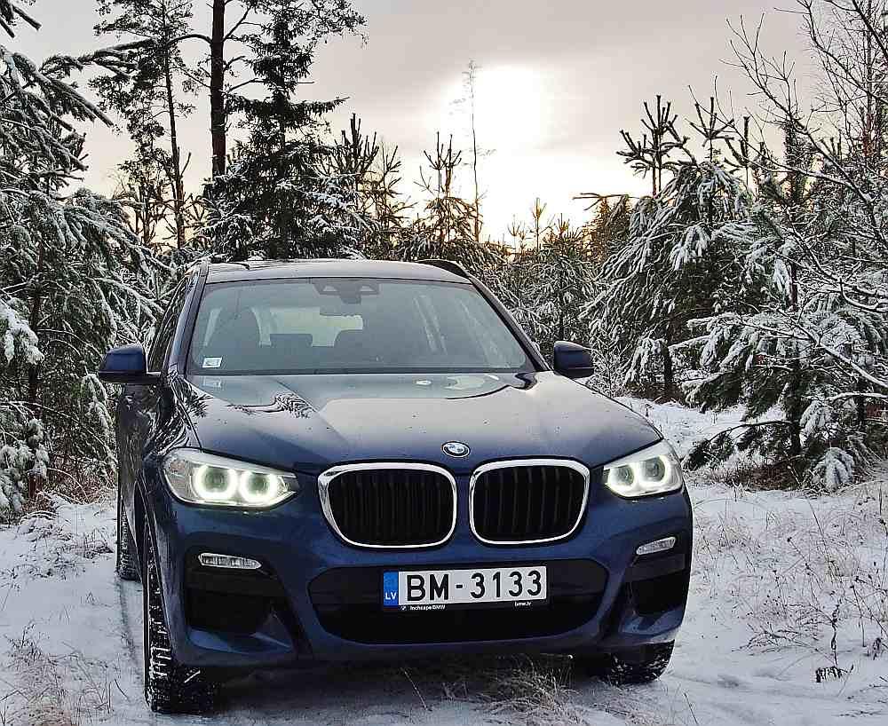 """""""BMW X3"""" jaunākā versija"""