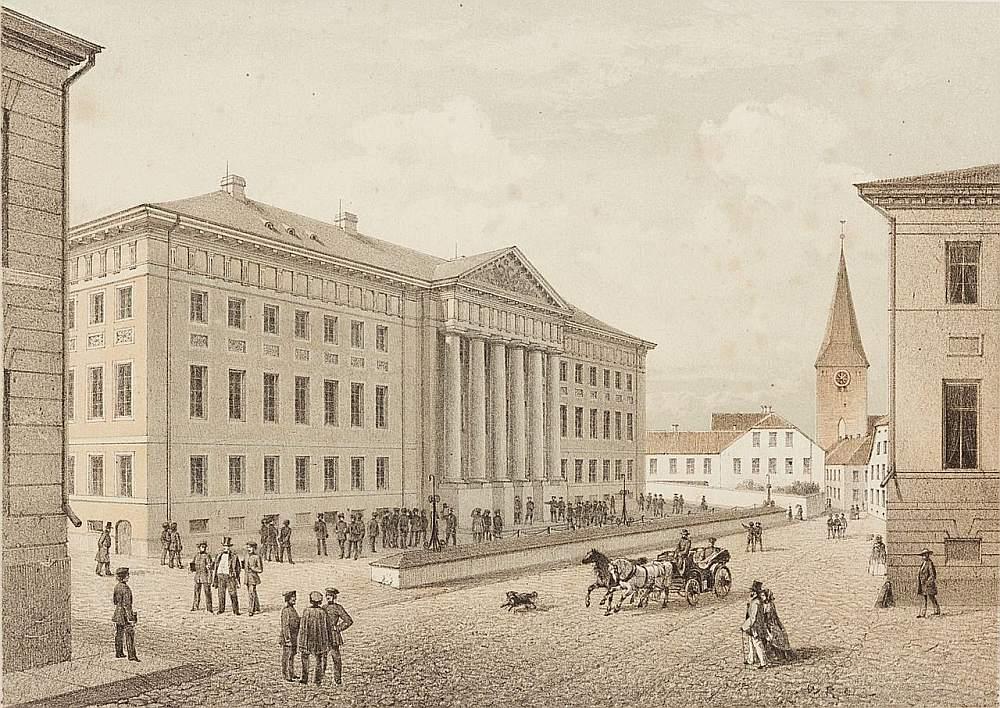 Tartu universitāte 19. gs vidū.