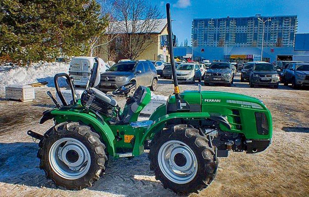 'Ferrari' traktors