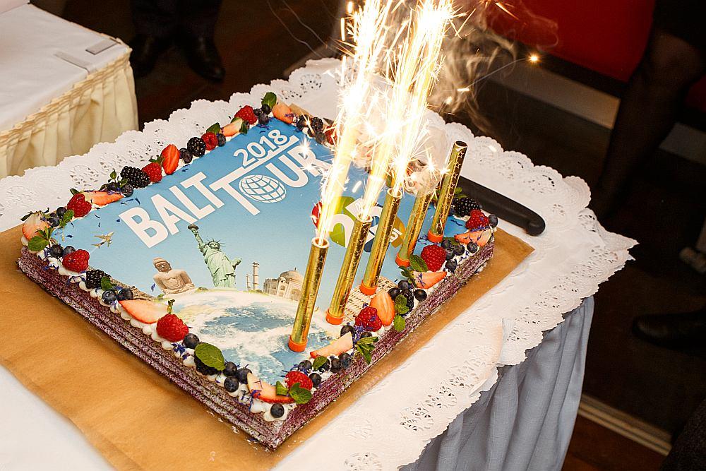 """""""Balttour 2018"""" šogad svinēs 25 gadu jubileju."""