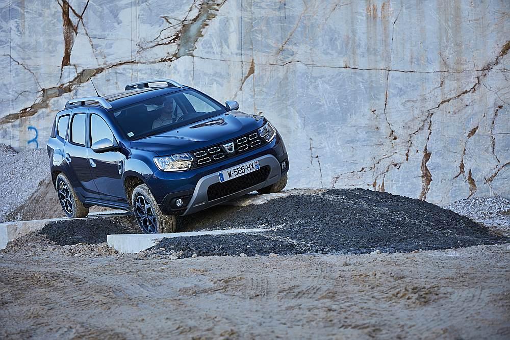 """Dacia Duster"" 2018. gada modelis."