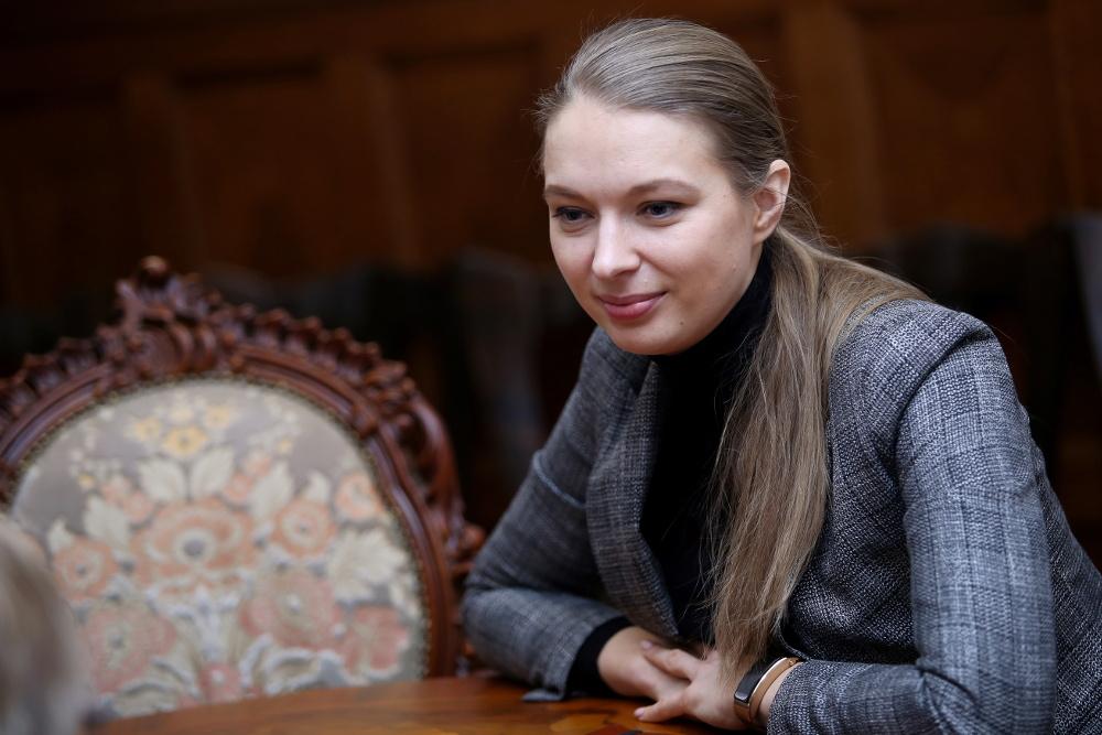 Teātra vadītāja Dana Bjorka