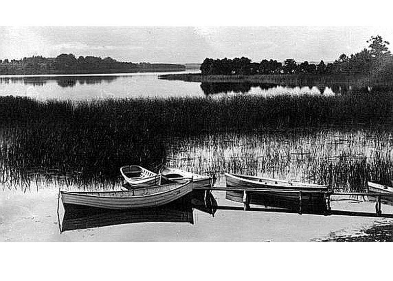 Limbažu Lielezers vasarā 30. gados.