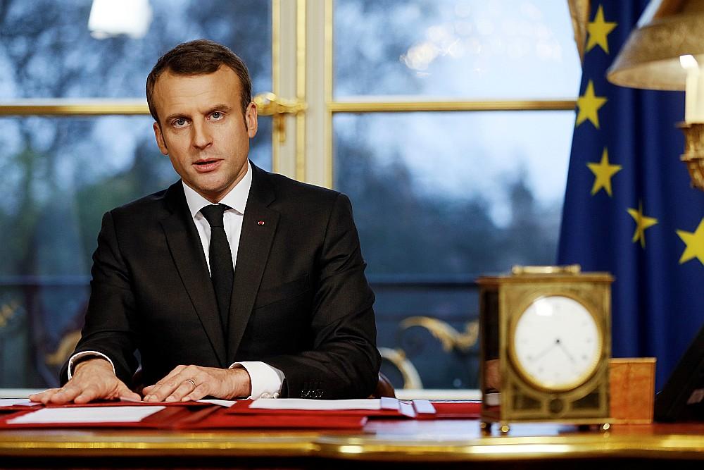 Francijas prezidents Emanuels Makrons