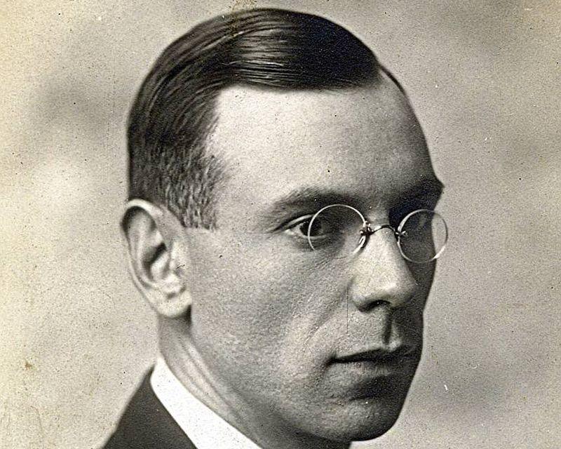 Z. A. Meierovics 20. gadu sākumā.