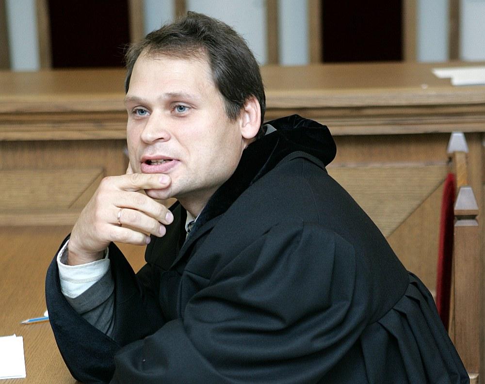 Aldis Pundurs vēl prokurora amatā 2007. gadā.