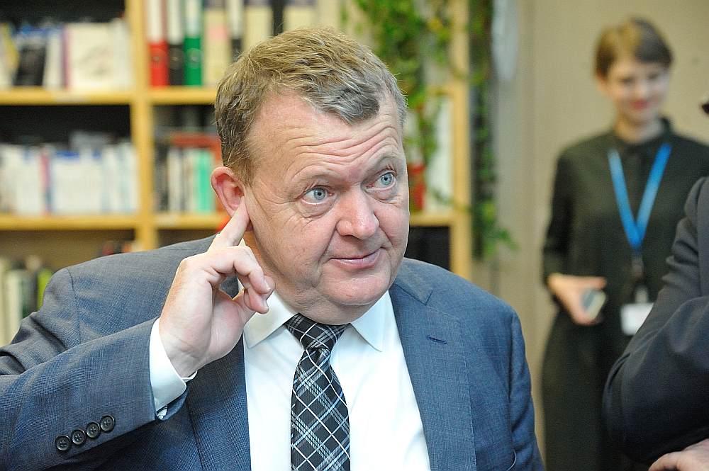 Dānijas premjers Larss Leke Rasmusens
