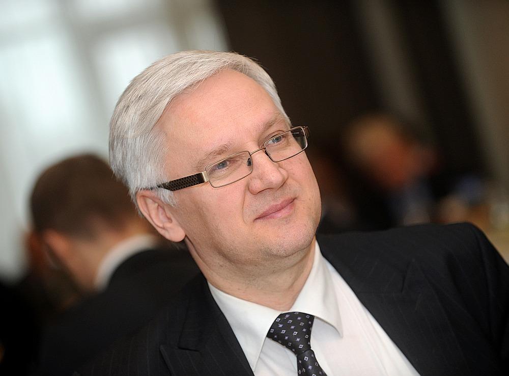 """AS """"Augstsprieguma tīkls"""" valdes priekšsēdētājs Varis Boks: """"Šogad jāturpina Kurzemes loka būvniecība, kā arī trešais starpsavienojums ar Igauniju."""""""