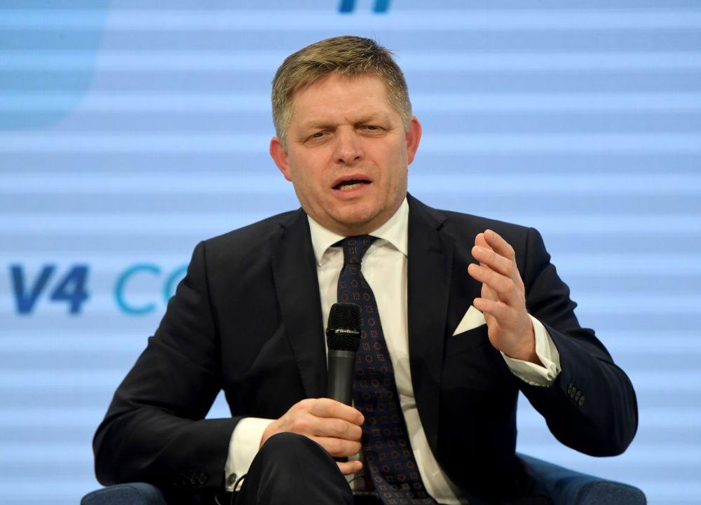 Slovākijas premjerministrs Roberts Fico