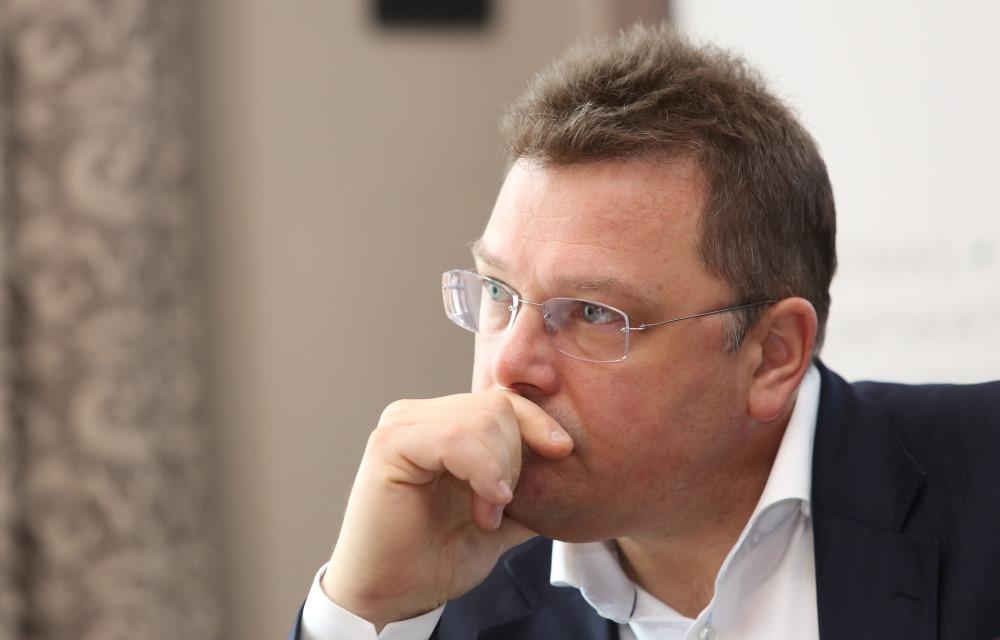 """Korporatīvo finanšu uzņēmuma """"Prudentia"""" partneris Ģirts Rungainis."""
