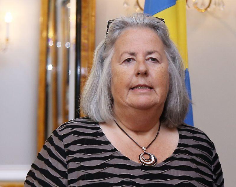 Annika Jagandere, Zviedrijas vēstniece Latvijā