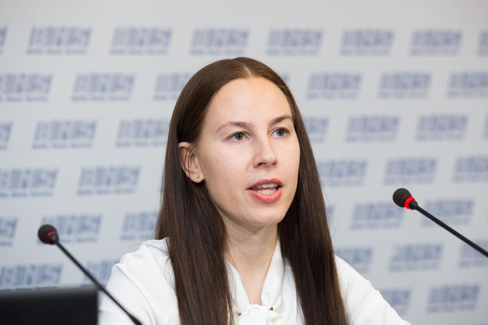 Lietuvas Nacionālās bibliotēkas direktore Agneta Skardžuviene.