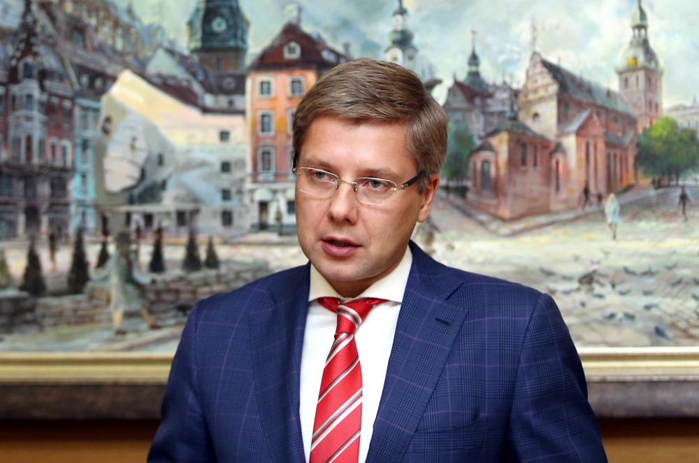 Rīgas domes priekšsēdētājs Nils Ušakovs