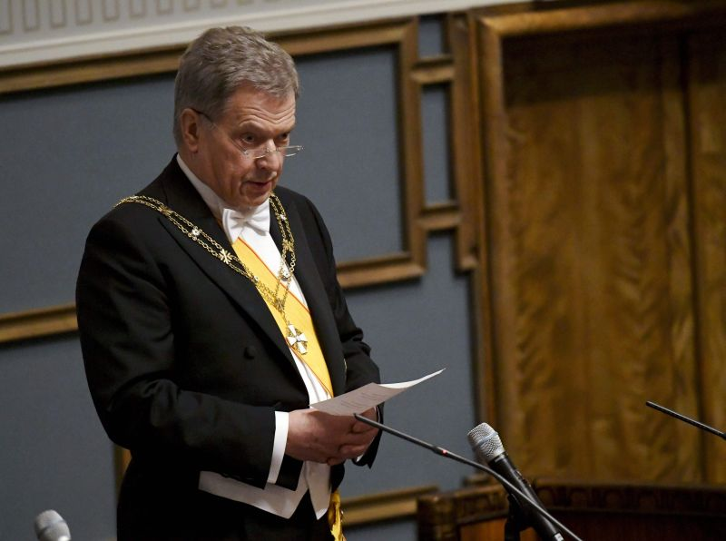 Somijas prezidents Sauli Nīnisto