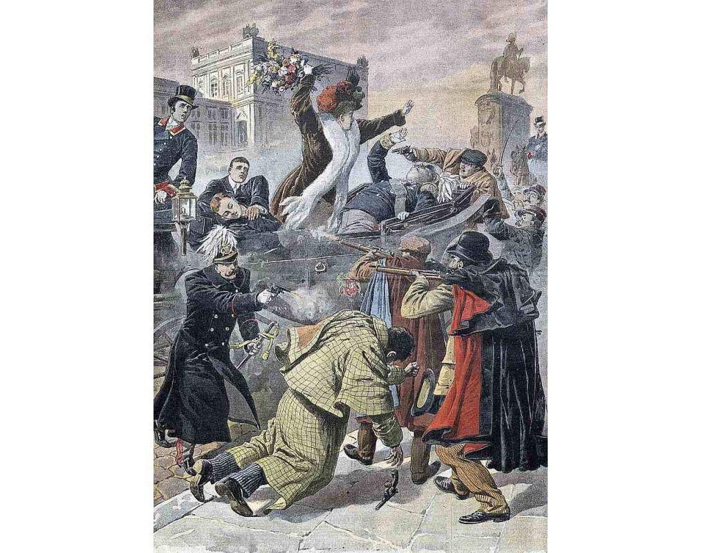 Uzbrukums Lisabonas Tirgus laukumā.