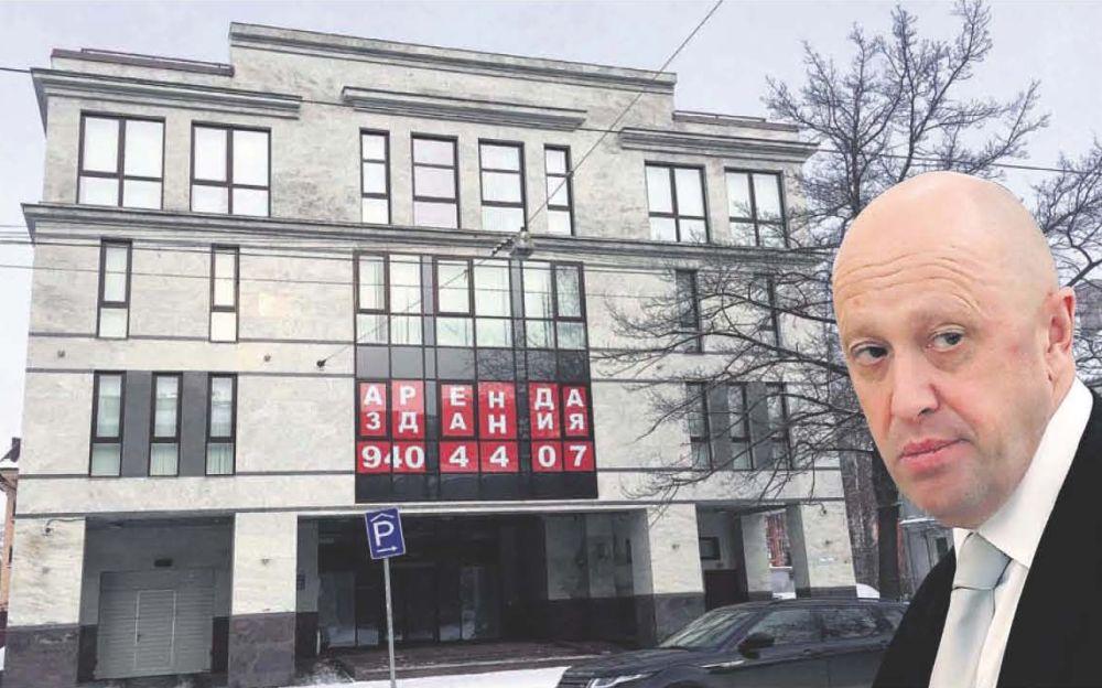 Interneta pētījumu aģentūras ēka Sanktpēterburgā, kuru finansē Krievijas uzņēmējs un prezidenta Putina tuvs sabiedrotais Jevgeņijs Prigožins (attēlā).