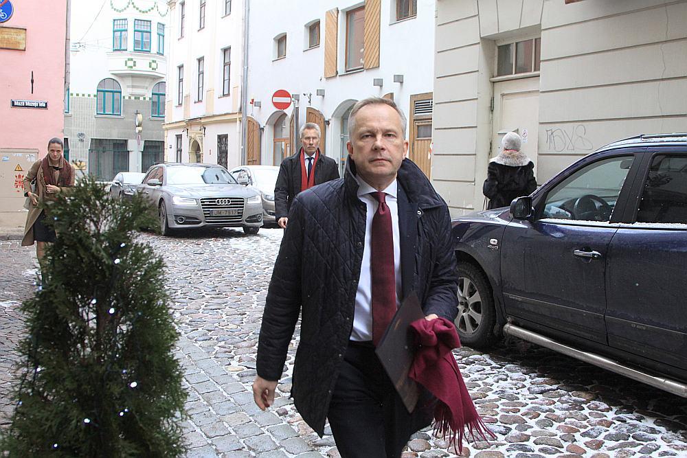 Latvijas Bankas prezidents Ilmārs Rimšēvičš.