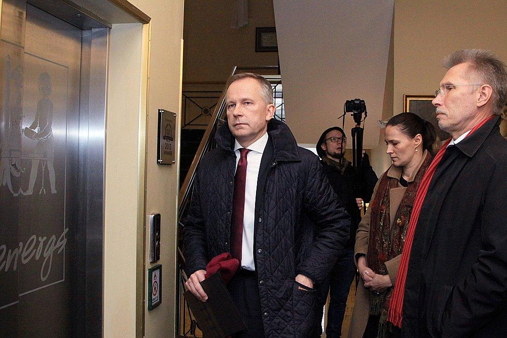Kukuļņemšanā aizdomās turētais Latvijas Bankas prezidentS IlmārS Rimšēvičs.