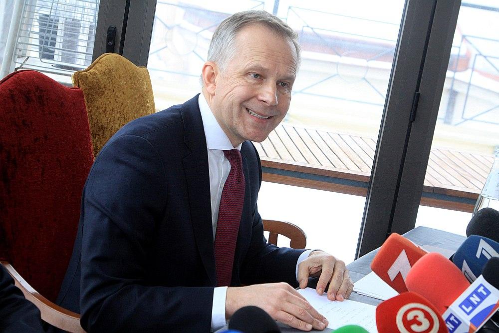 Latvijas Bankas prezidents Ilmārs Rimšēvičs.