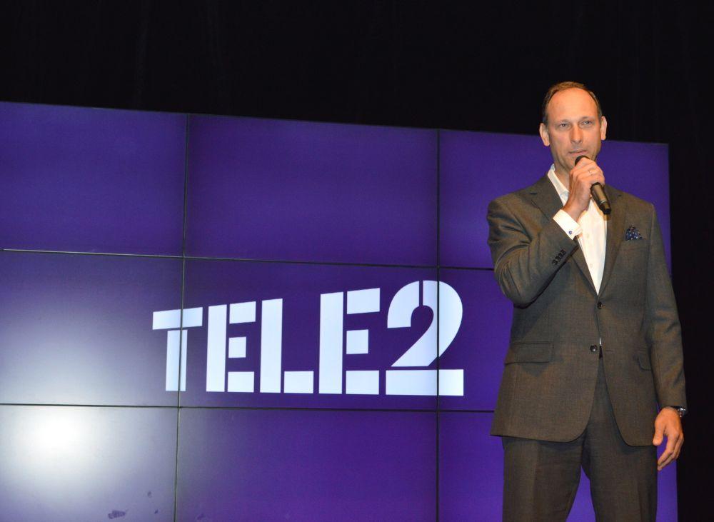 """""""Tele2"""" valdes priekšēdētājs Valdis Vancovičs."""