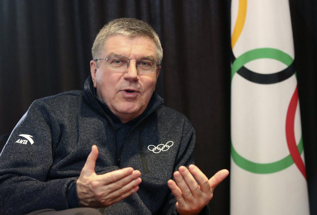 Starptautiskās olimpiskās komitejas prezidents Tomass Bahs