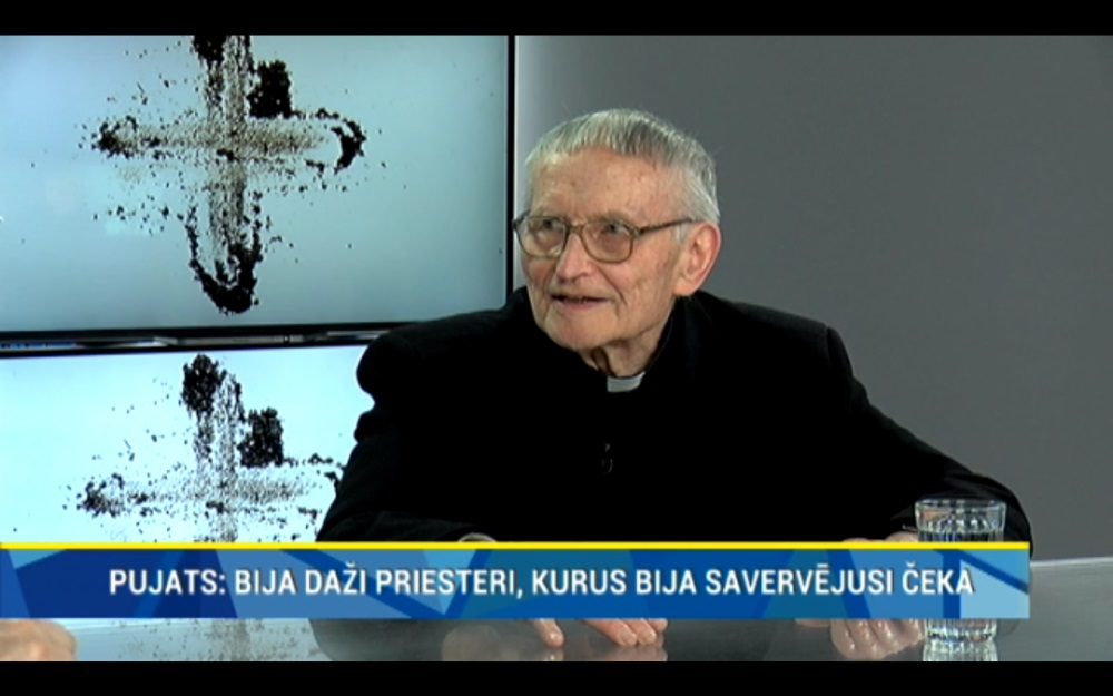 Kardināls Jānis Pujats intervijā Rīga TV24 stāsta par čekas laikiem un baznīcu.