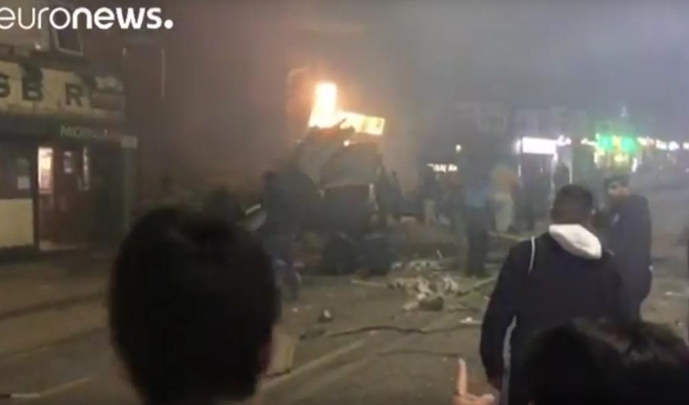 Lielbritānijas pilsētā Lesterā sprādzienā iet bojā cilvēki.