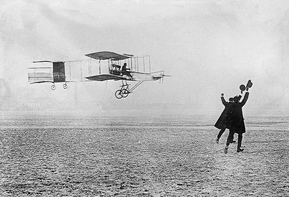 Farmana–Vuazēnu aeroplāns 1908. gadā.