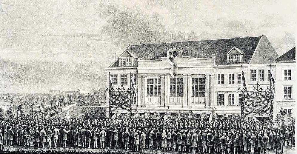 RLB pirmā ēka.
