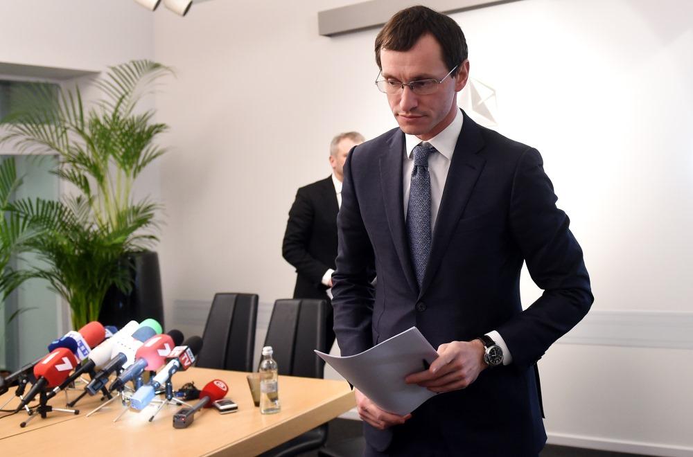 """""""ABLV Bank"""" valdes priekšsēdētājs Vadims Reinfelds."""