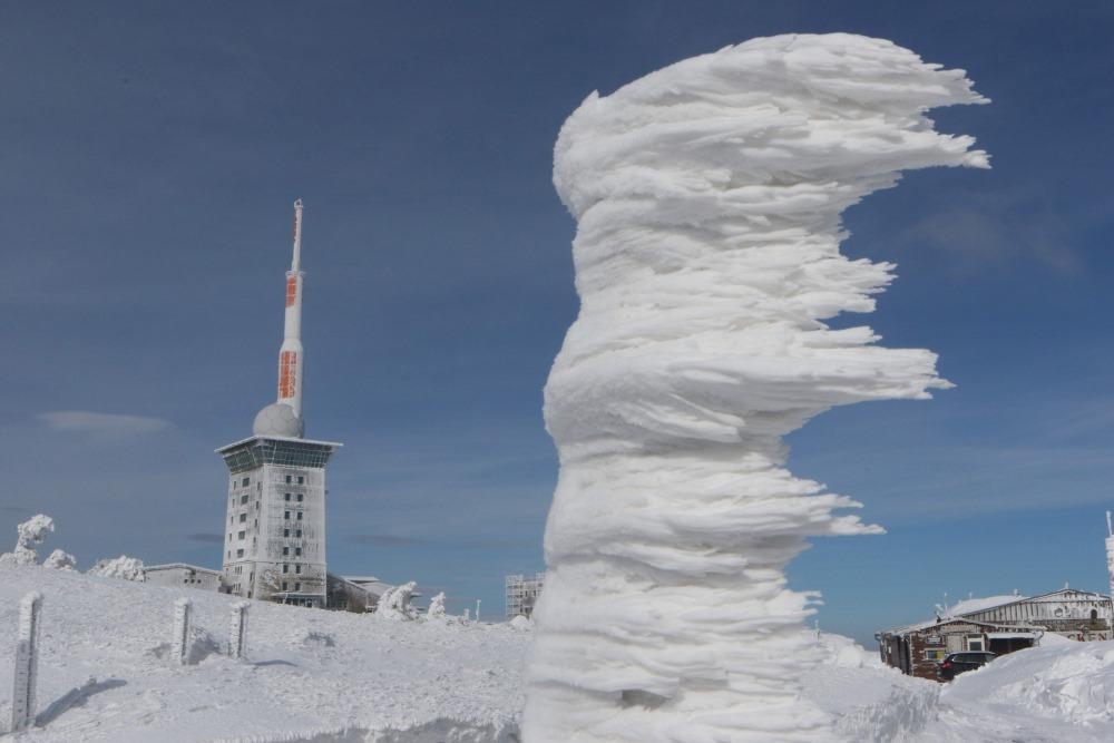 18.03.2018. Vācijas vidienē Harcā plosījās spēcīga vētra līdz pat 115 km/h.