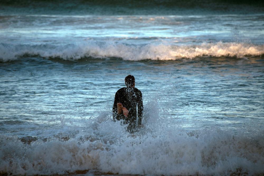 Ilustratīvs foto. Okeāns Austrālijā.