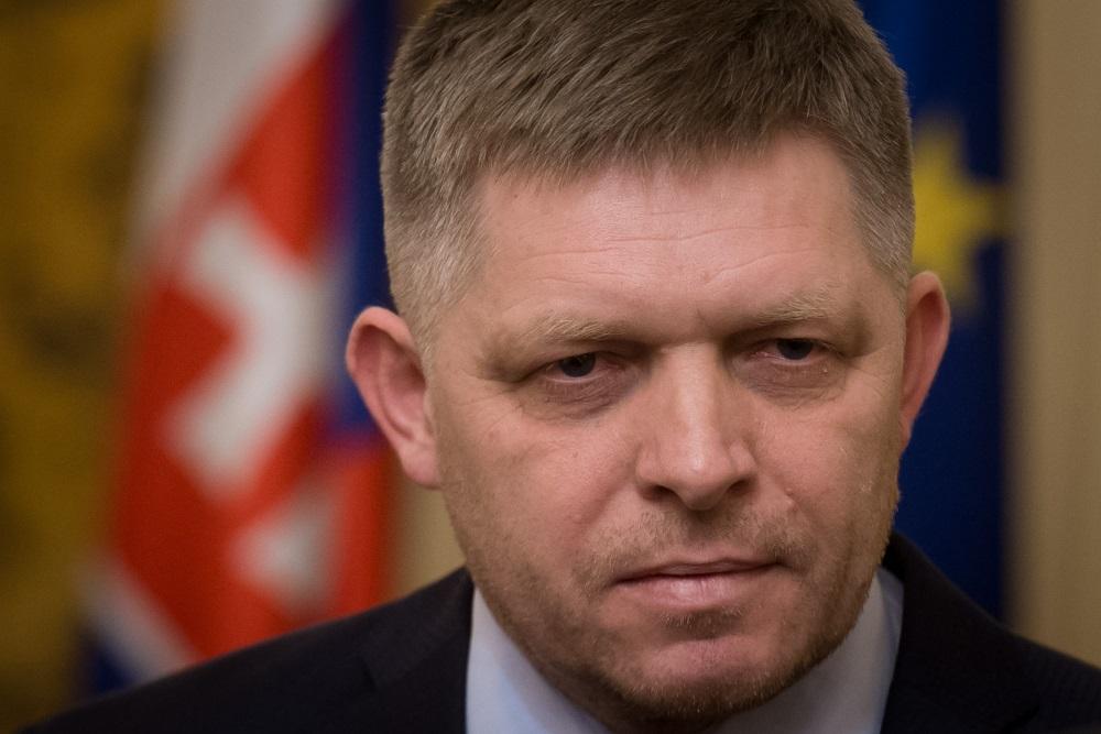 Slovākijas premjerministrs Roberts Fico paziņo par atkāpšanos, 14.03.2018.
