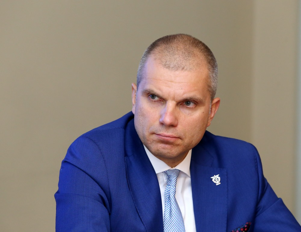 LTRK prezidents Aigars Rostovskis.