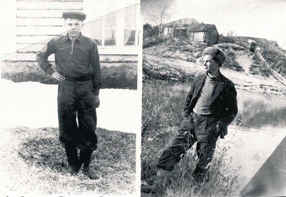 Raksta autors Māris Lācis (no kreisās) un brālis Jānis Sibīrijā.