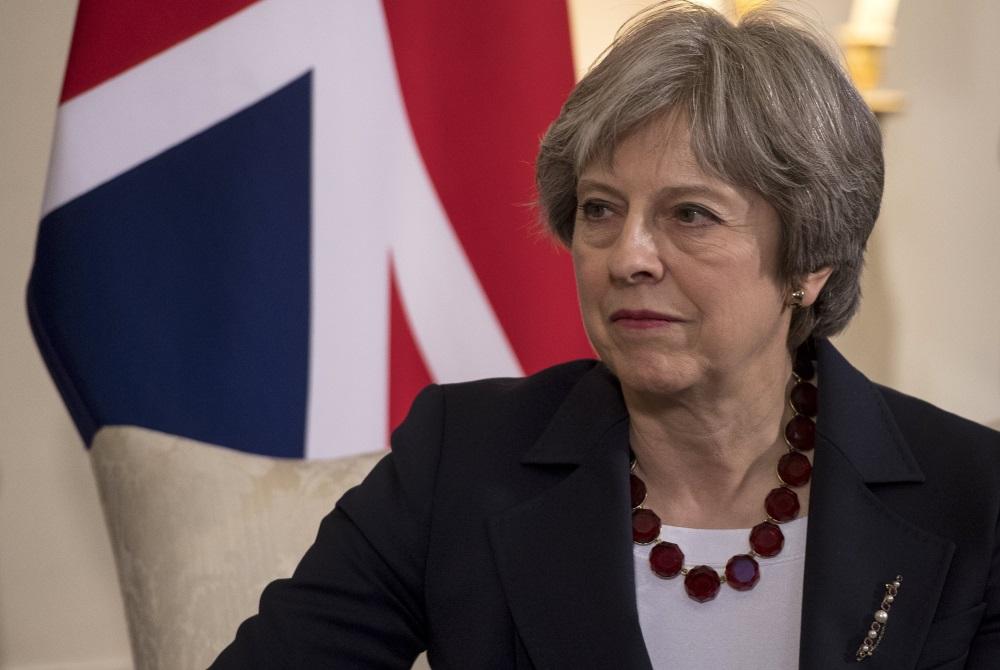 Lielbritānijas premjerministre Terēza Meja