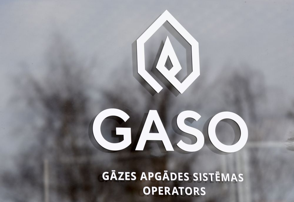 """Gāzes apgādes sistēmas operatora AS """"Gaso"""" klientu centrs."""
