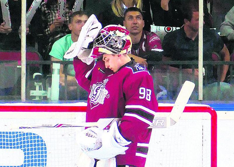 Jānis Kalniņš uzskata, ka KHL komandā var būt pirmais vārtsargs.