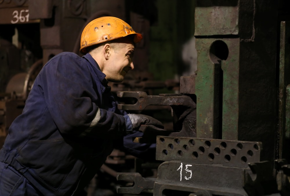 """Arhīvs. """"Liepājas Metalurgs"""" ražotne."""