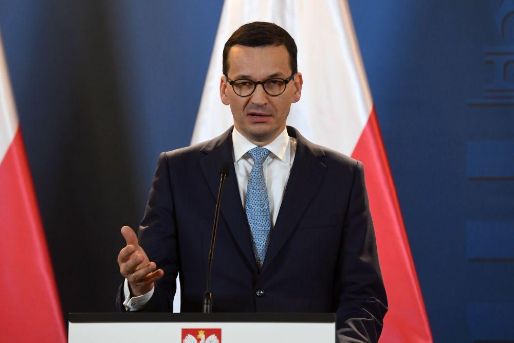 Polijas premjerministrs Mateušs Moraveckis