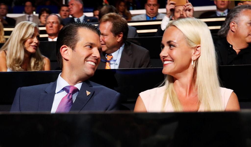 Trampa dēls ar sievu Vanesu
