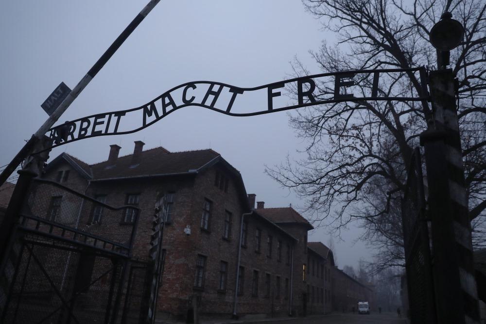 Aušvitcas koncentrācijas nometne Polijā, 27.01.2018.