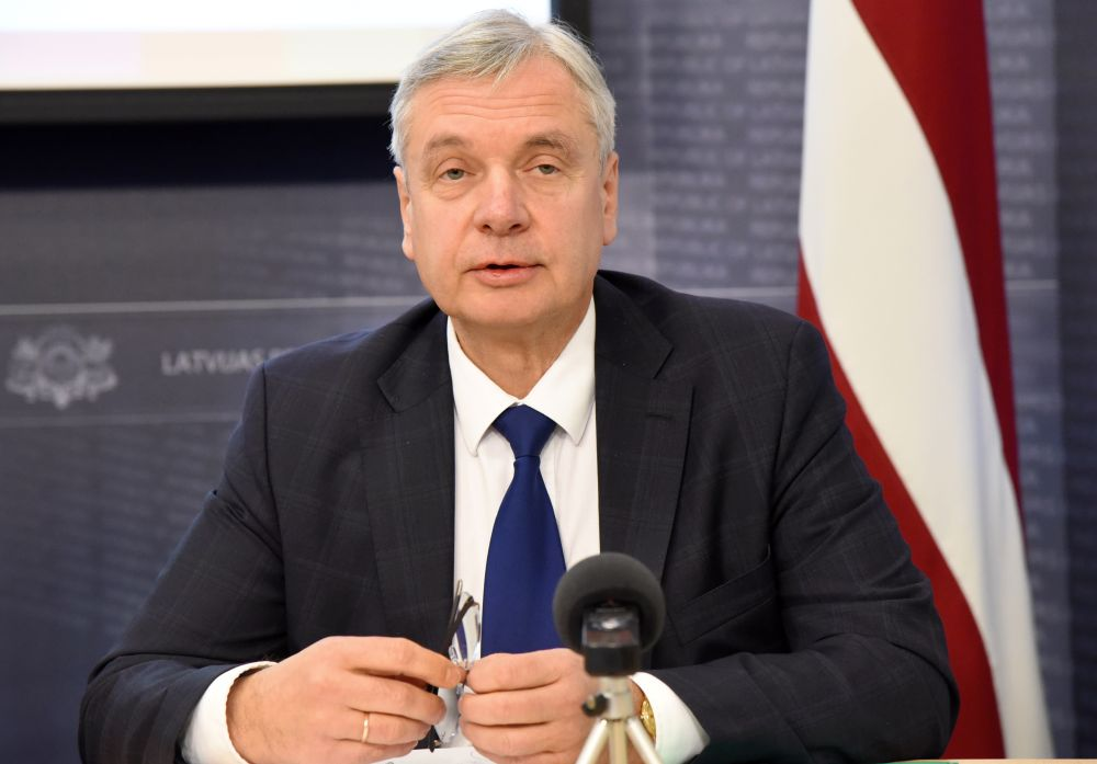 Izglītības un zinātnes ministrs Kārlis Šadurskis