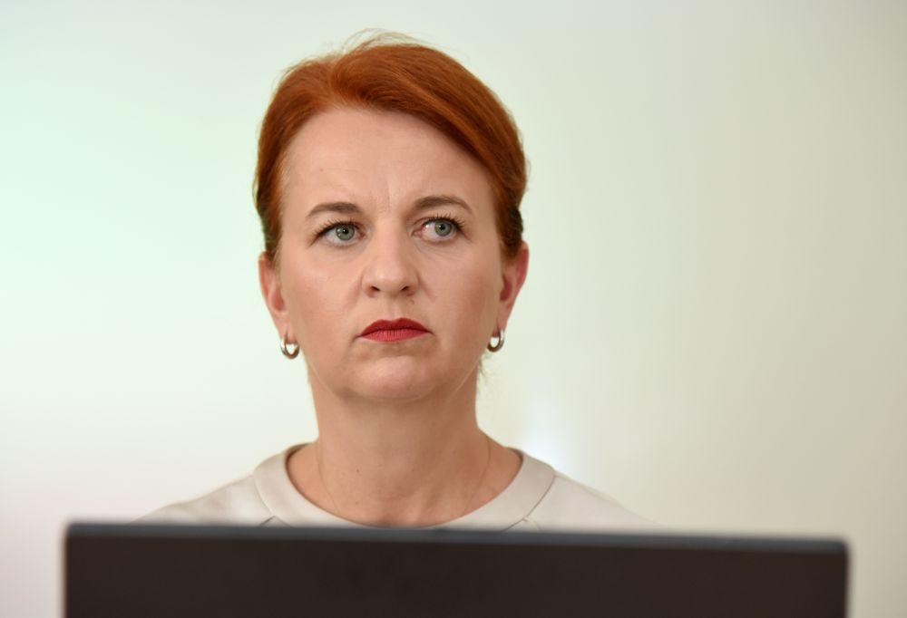 Nodarbinātības valsts aģentūras direktore Evita Simsone