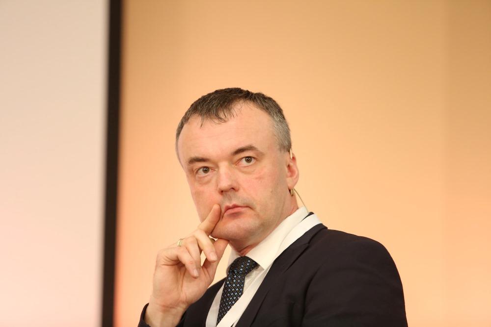 """Pēteris Strautiņš, """"Luminor Bank"""" galvenais ekonomists."""